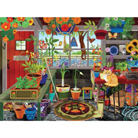 Greenhouse 300 Large Piece Jigsaw Puzzle