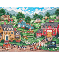 The Curious Calf 550 Piece Jigsaw Puzzle