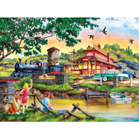 Apple Express 300 Large Piece Jigsaw Puzzle