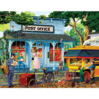 Postage Stamps and Butter 1000 Piece Jigsaw Puzzle