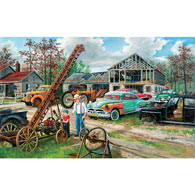In Grandpa's Footsteps 550 Piece Jigsaw Puzzle