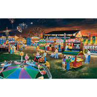 Evening at the County Fair 550 Piece Jigsaw Puzzle