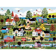 On the Summer Wind 550 Piece Jigsaw Puzzle