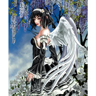 Angel and Flowers 1000 Piece Jigsaw Puzzle