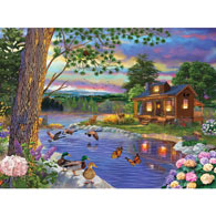 Peace River 1000 Piece Jigsaw Puzzle