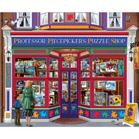 Professor Piecepicker's Puzzle Shop 1000 Piece Jigsaw Puzzle