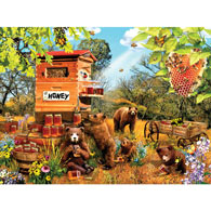 Bears and Bees 1000 Piece Jigsaw Puzzle