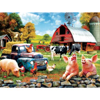 Down Home 300 Large Piece Jigsaw Puzzle