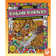 Animals - Color by Number Books