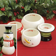 Snowman Stackable Measuring Cups