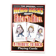 Rock 'N Roll Playing Cards