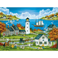 Watching Over the Bay 550 Piece Jigsaw Puzzle