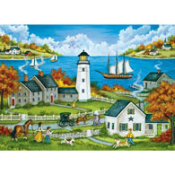 Watching Over the Bay 1000 Piece Jigsaw Puzzle