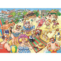A Very Merry Holiday 1000 Piece Wasgij Jigsaw Puzzle