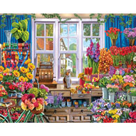 The Flower Shoppe 1000 Piece Jigsaw Puzzle