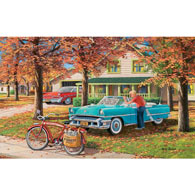 A Young Man's Dream 550 Piece Jigsaw Puzzle