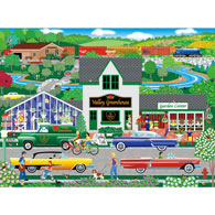 Flowers from the Valley 500 Piece Jigsaw Puzzle