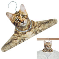 Out-on-the-Town Cat Hanger