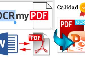 Convertiré pdf a diapositivas de powerpoint en formato PPT o pptx