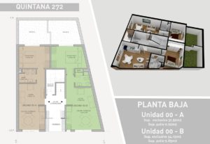 Creación modelo 3D y renderización exterior, proyecto de arquitectura