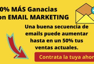 Secuencia de 5 emails para tus campañas