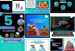 Diseño de contenido para instagram  y otras RRSS.