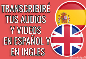 Traduciré del español al inglés en menos de 24 horas