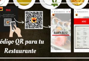 Crearé una QR para tu Menú ( Restaurantes)