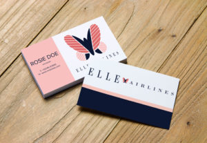 Diseño para tarjetas de presentación a su gusto.