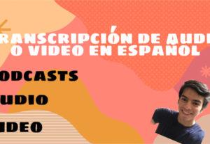 Haré una transcripción en español con calidad