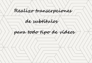 Transcripción de subtítulos para cualquier tipo de vídeo en español