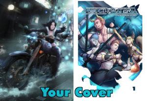 Dibujaré una portada para tu libro, comic o ilustración personal