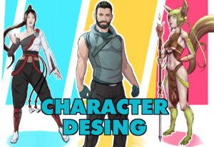 crearé un personaje para tu historia, libro o cómic personal