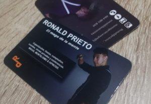 Diseño de tarjetas de presentación para tu negocio, empresa o particular.