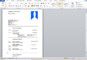 Curriculum, carta de presentacion para empleo