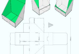 Diseño de cajas listas para troquel
