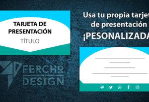 Diseño de tarjetas de presentación personalizadas