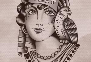 Diseño de Tatuaje tradicional