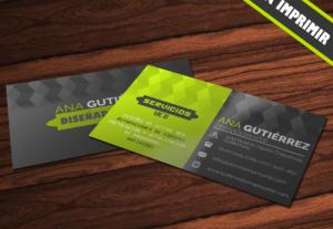 Diseño de lujo para tarjetas de presentación personalizadas