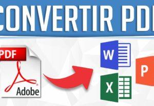 Convierto tus archivos pdf a word, excel, ppt y reparo pdf dañado