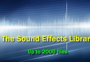 Te daré más de 2000 efectos de sonido con derechos de reventa
