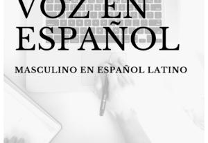 Voz juvenil masculina mexicana para cualquier tipo de proyecto
