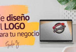 Te diseño un logotipo tipográfico para tu negocio