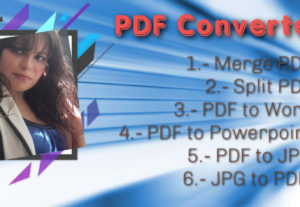 Uniré, dividiré o convertiré tus PDFs