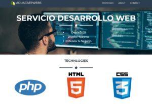 Desarrollo de un sitio web profesional para su empresa