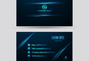 Diseño de tarjetas de presentación digitales