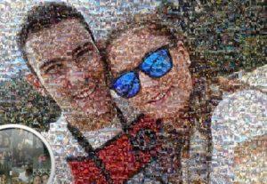 Foto Mosaico hecho con tus fotografías