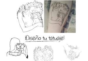 Diseño tu tatuaje lineal!