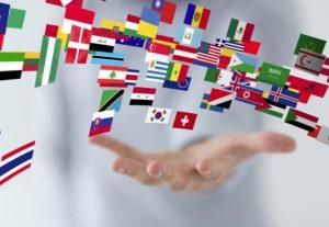 Traducciones en cinco idiomas – portugués – inglés – español – francés – Árabe