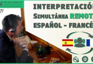 interpretación francés ↔ español en línea